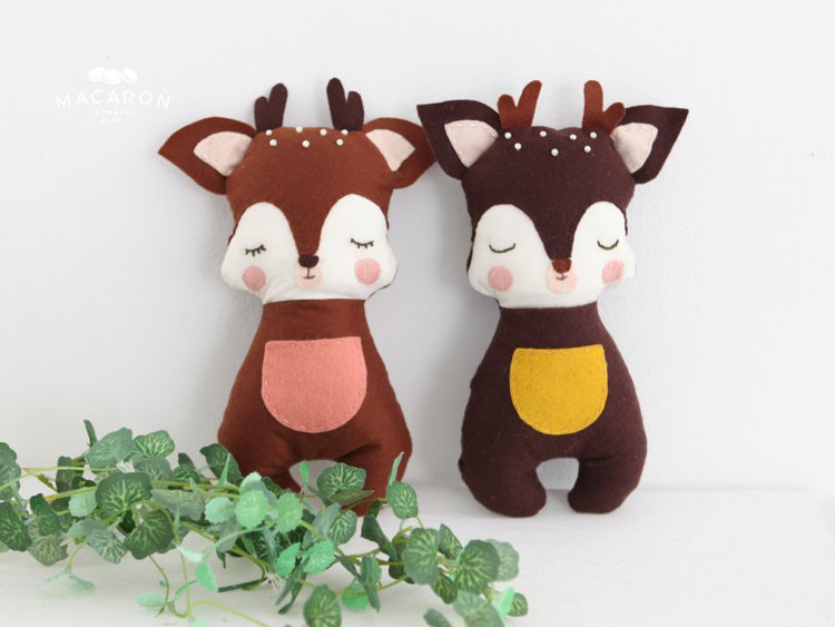 Picture of Deer Doll, Bona PDF Pattern