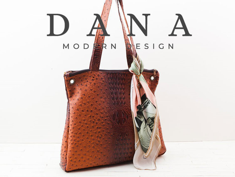 Picture of Rina Tote Bag (2 Sizes) PDF Pattern