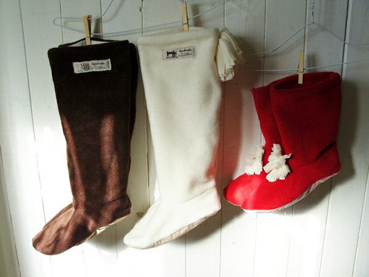 Picture of Women Boots PDF Pattern