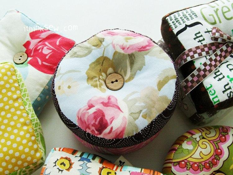 Picture of Ramona Pin Cushion PDF Pattern