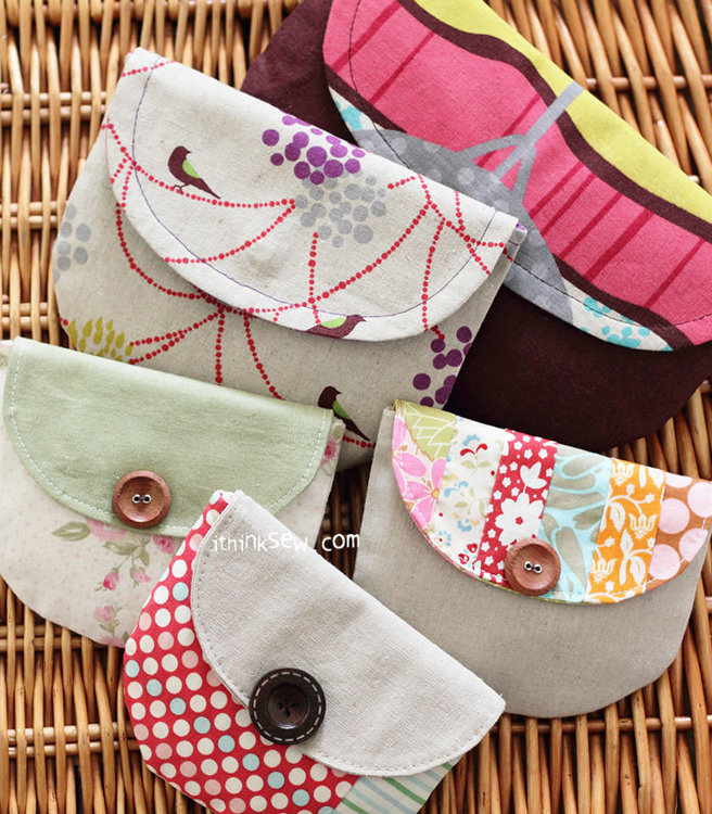 Picture of FREE - Sweet and Simple Clutches PDF Pattern