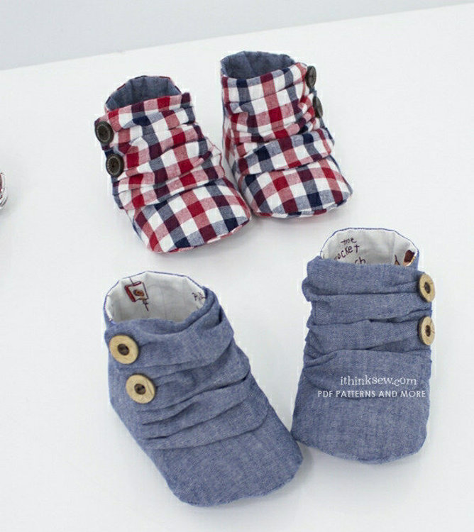 Picture of Jaden Baby Sneakers PDF Pattern