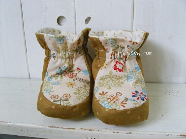 Picture of Bailey Baby Booties PDF Pattern