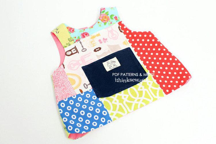 Picture of Emery Baby Bib Vest  PDF Pattern