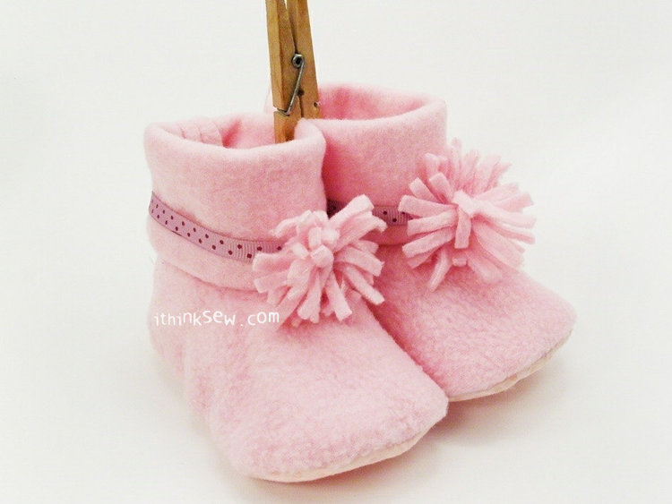 Picture of Sasha 3-Style Baby Boots PDF Pattern
