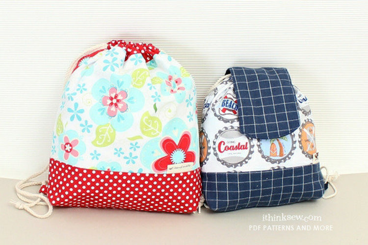 Picture of Rory Toddler String Bag (2 Size) PDF Pattern