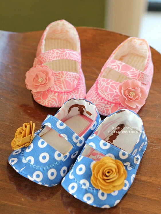 Picture of Jacqueline Baby Booties PDF Pattern (#127)