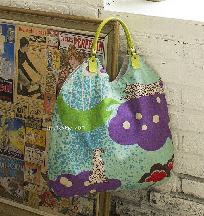 Picture of Alice Bag PDF Pattern