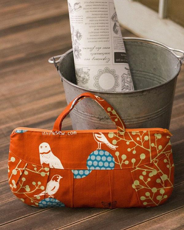 Picture of Sophia Zipper Bags PDF Pattern