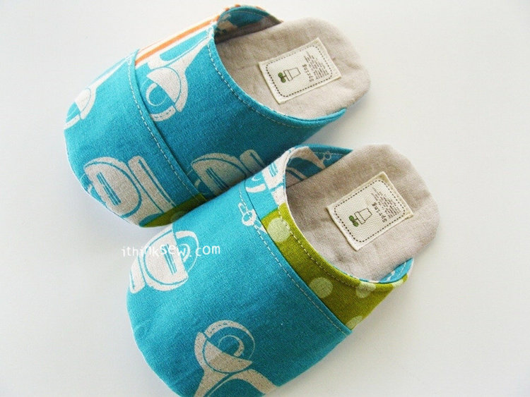 Picture of Dani Baby & Toddler's Slipper PDF Pattern