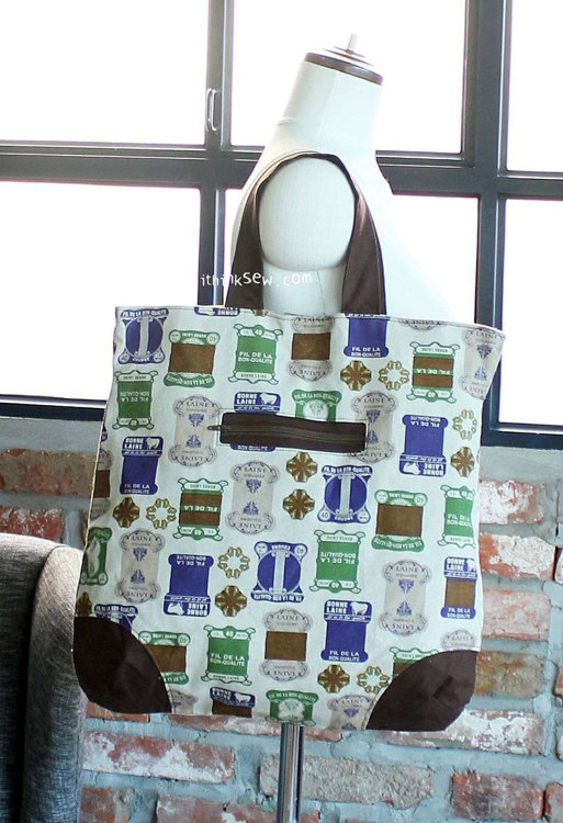 Picture of Eleanor Bag PDF Pattern
