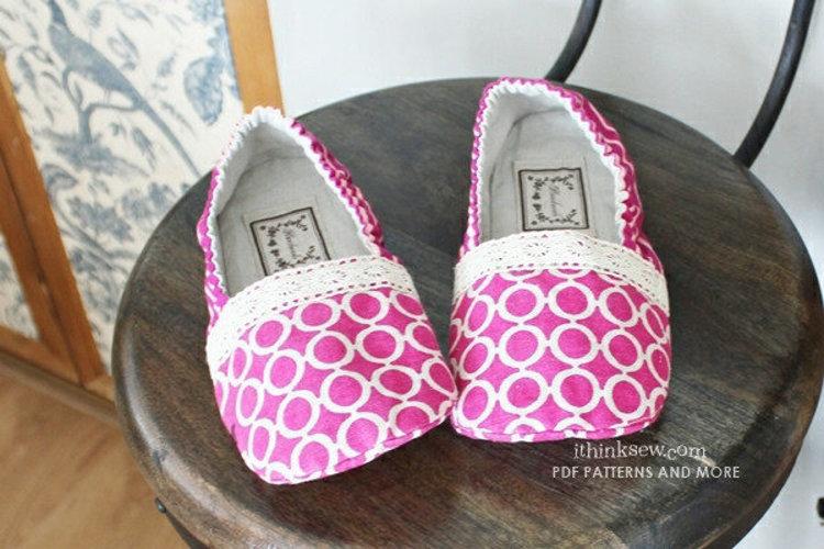 Picture of Priscilla Women's Shoes PDF Pattern