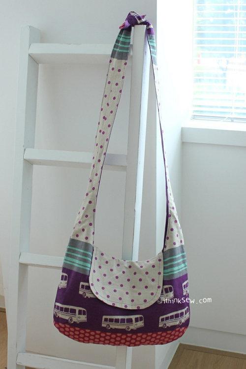 Picture of Sadie Crossbag PDF Pattern