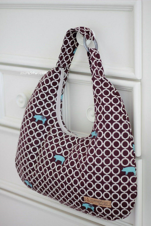 Picture of Chic Hobo Bag PDF Pattern