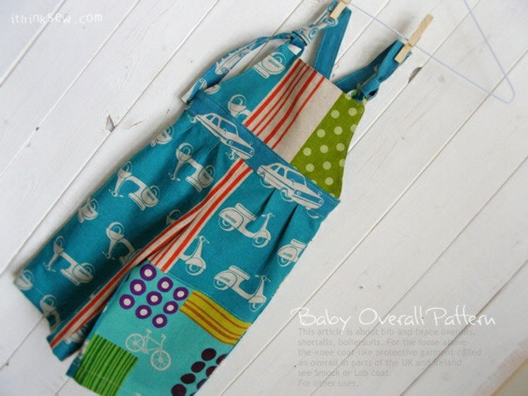 Picture of Jody Baby Overalls PDF Pattern
