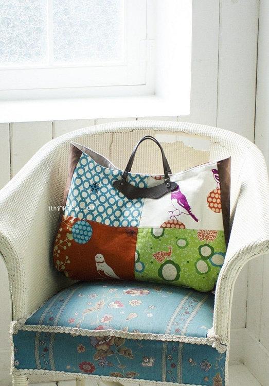 Picture of Junia Bag PDF Pattern