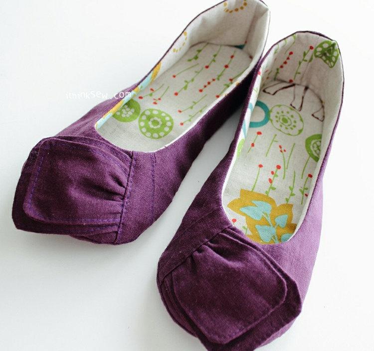 Picture of Elizabeth Women Shoes PDF Pattern