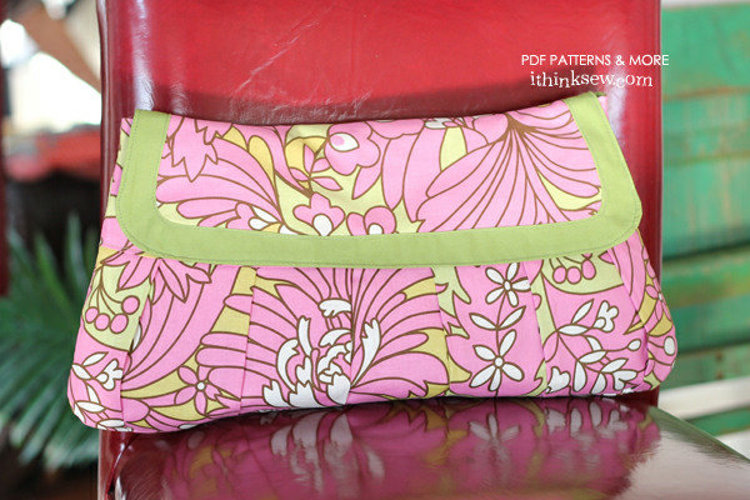 Picture of Kaitlin Clutches PDF Pattern