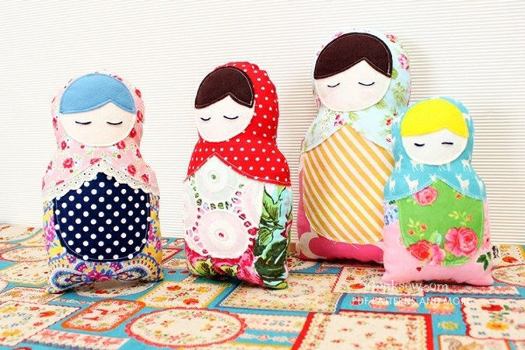 Picture of FREE - Matroyshika Doll PDF Pattern