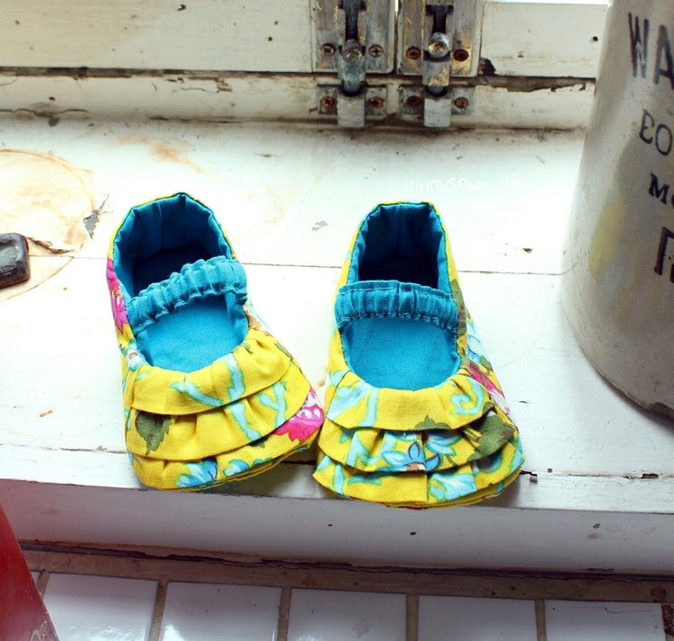 Picture of Rosy Mary Janes PDF Pattern