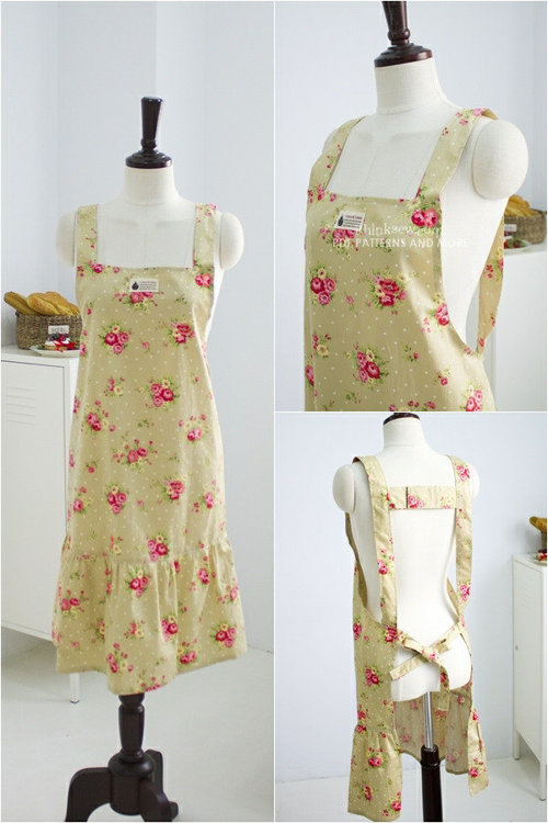 Picture of Cary Apron (3 Styles) PDF Pattern ONLY