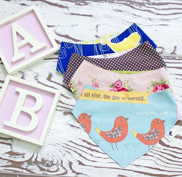 Picture of FREE - Patrice Baby Scarf Bib PDF Pattern ONLY