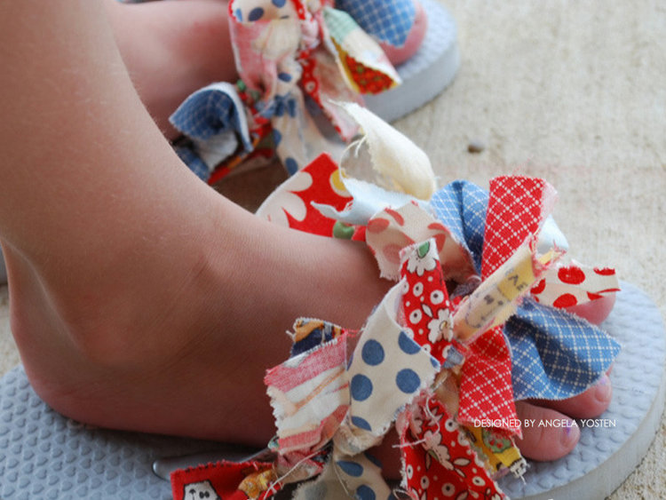 Picture of Rags to Ruffles PDF Pattern