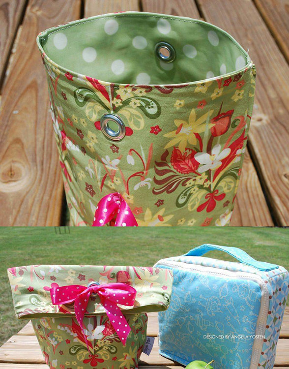 Picture of Lunch Bags PDF Pattern