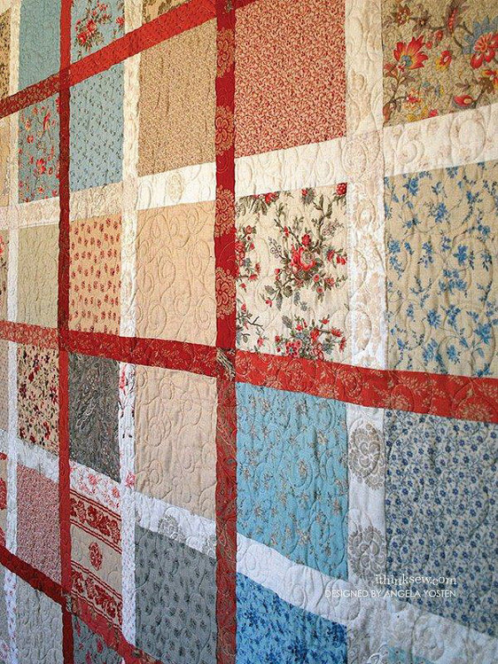 Picture of Remembrance Quilt PDF Pattern