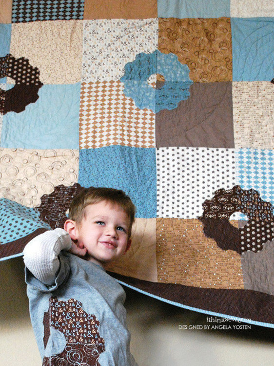Picture of Baby Gears Quilt PDF Pattern