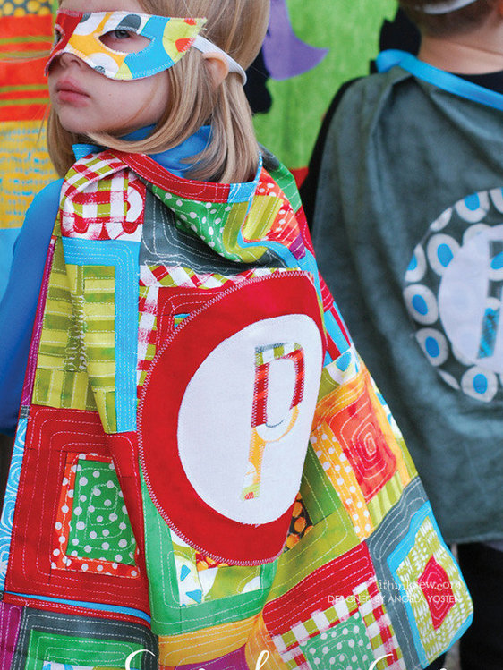 Picture of Superhero Capes PDF Pattern