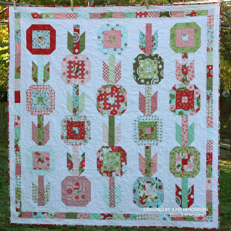 Picture of In Bloom Quilt PDF Pattern