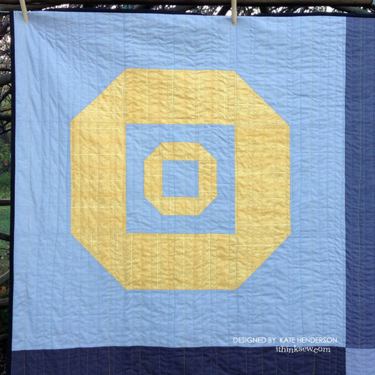 Picture of Deep Space Quilt PDF Pattern