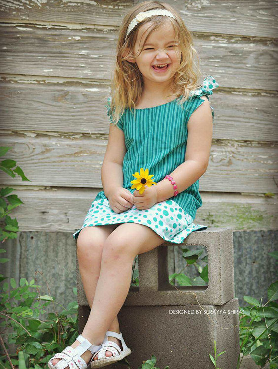 Picture of Allison Reversible Dress PDF Pattern