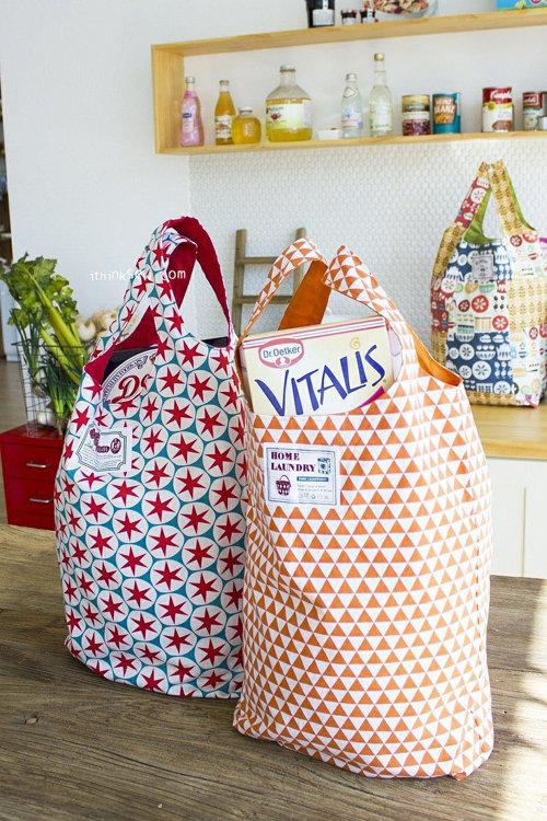 Picture of Free Vanessa Market Bag PDF Pattern