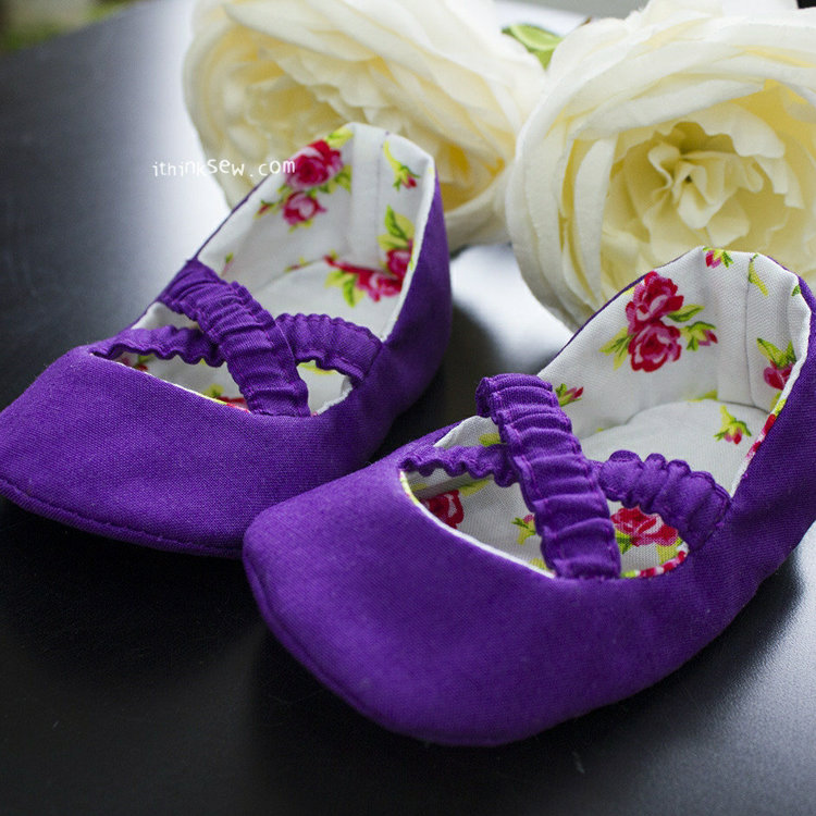 Picture of Baby Ballet Shoes PDF Pattern