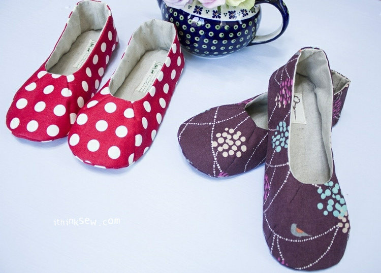 Picture of Tracy Women's Shoes PDF Pattern