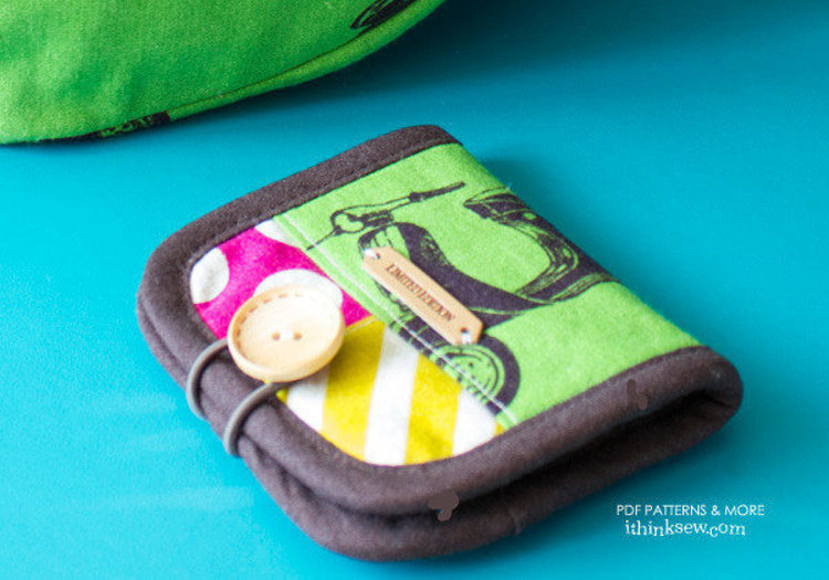 Picture of Payley Wallet PDF Pattern