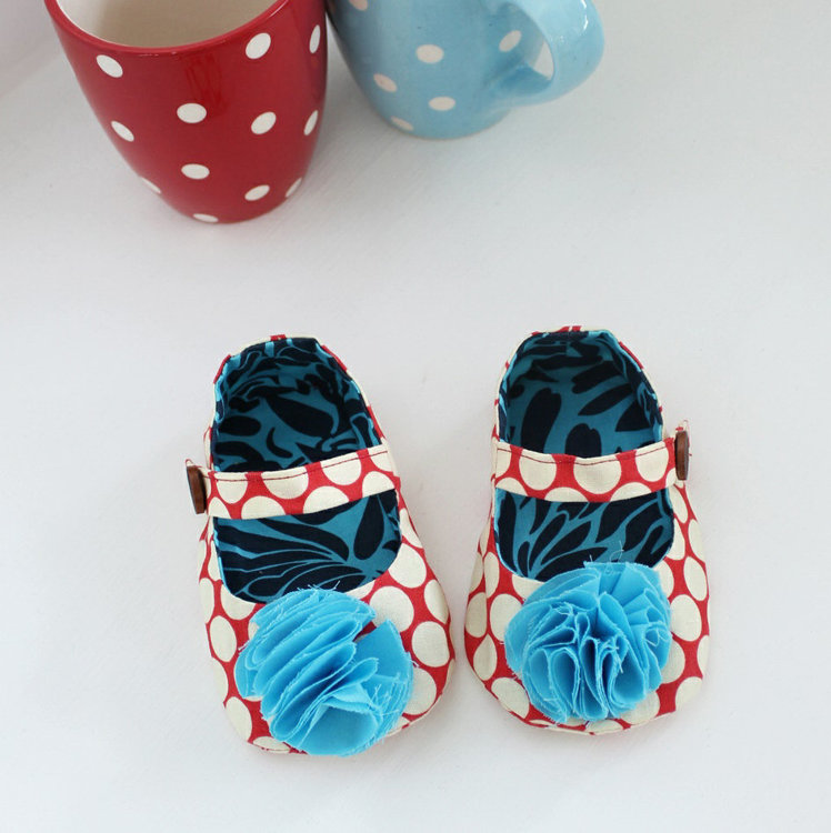 Picture of Charlotte Baby Mary Janes PDF Pattern