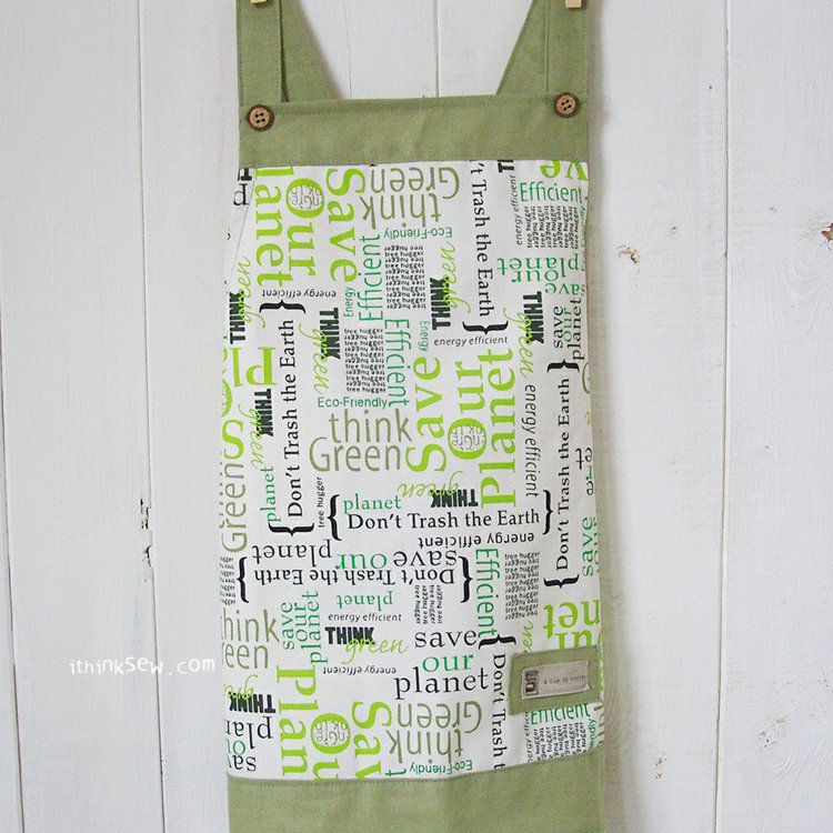 Picture of Andy Toddler's Apron PDF Pattern