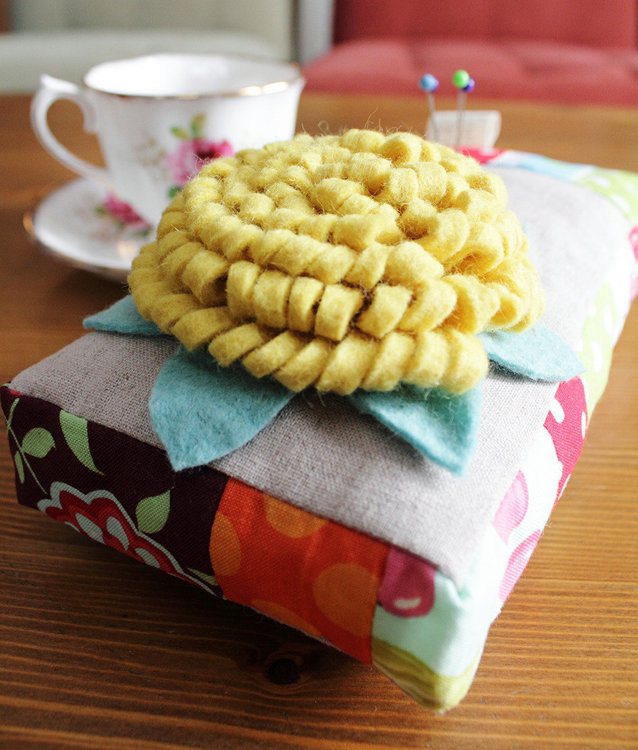 Picture of FREE - Adele Pin Cushion PDF Pattern