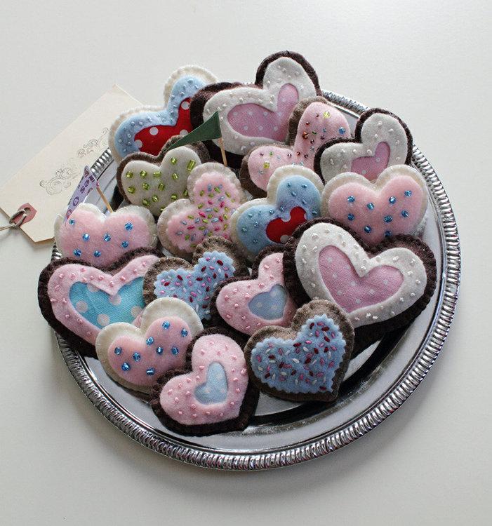 Picture of FREE - Felt Sweet Cookies PDF Pattern