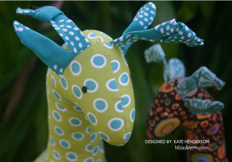 Picture of Jimmy Giraffe PDF Pattern