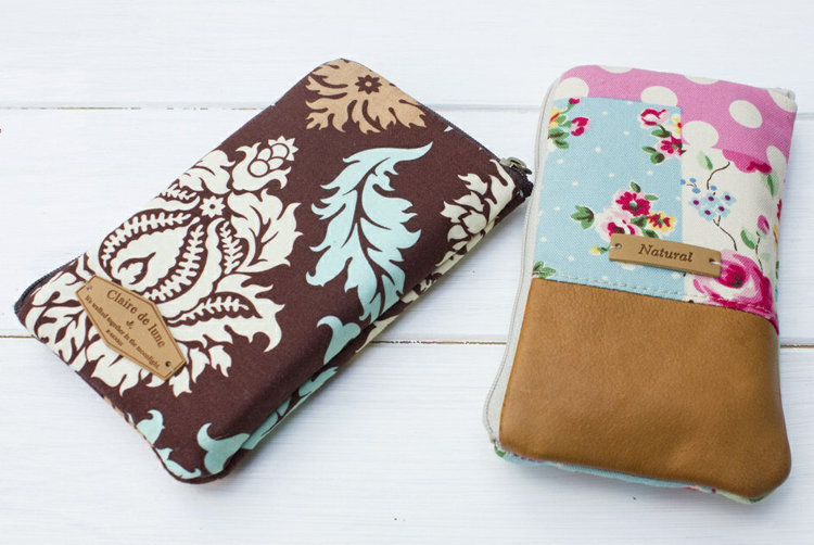 Picture of Denny Smartphone Wallet PDF Pattern