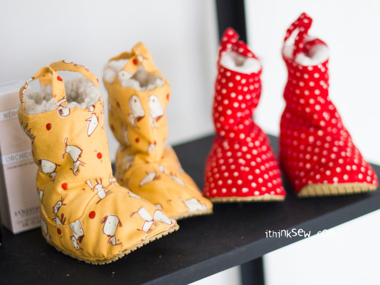 Picture of Connor Baby Boots PDF Pattern