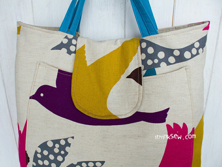 Picture of Abby Big Bag PDF Pattern
