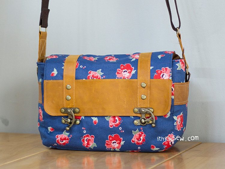 Picture of Max Vintage Camera Bag PDF Pattern