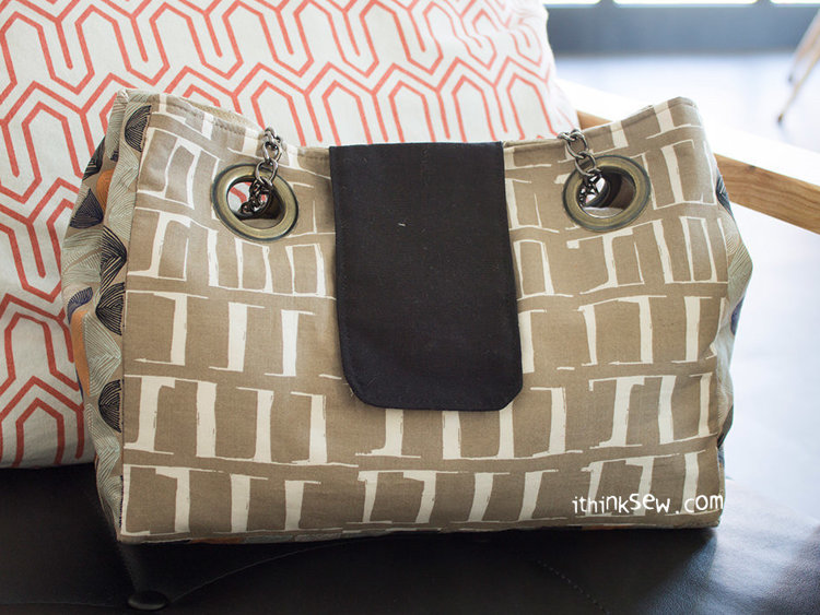 Picture of Agne Bag PDF Pattern