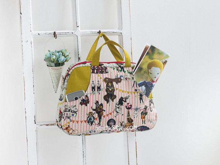 Picture of Cynthia Boston Bag PDF Pattern
