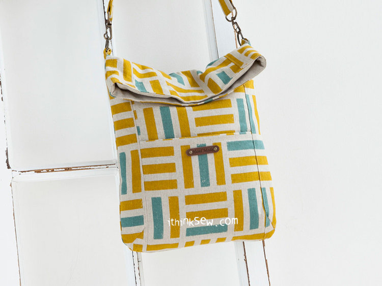 Picture of Louise Fold Over Tablet Bag PDF Pattern